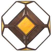 Varaluz 612470 Cubert 1 Light 8 inch Rustic Bronze ADA Wall Sconce Wall Light