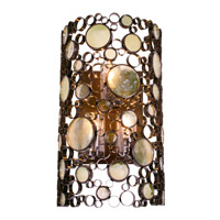 Varaluz Fascination 3 Light Outdoor Wall in Glossy Bronze 703KL03 photo thumbnail