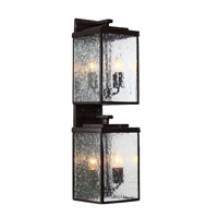 Mission You 4 Light 26 inch Glossy Bronze Outdoor Wall