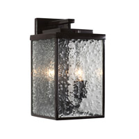 Mission You 2 Light 13 inch Glossy Bronze Outdoor Wall