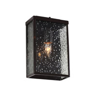 Varaluz Mission You 1 Light Small Outdoor Wall in Glossy Bronze 704S01GB