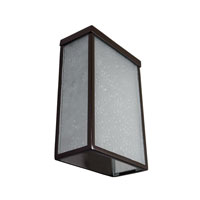 Varaluz Mission You 1 Light Small Outdoor Wall in Glossy Bronze 704S01GBF alternative photo thumbnail
