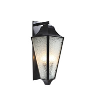 Varaluz Longfellow 4 Light Large Outdoor Wall in Exterior Black 731KL04EB