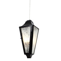 Varaluz Longfellow 3 Light Medium Outdoor Pendant in Exterior Black 731P03EB