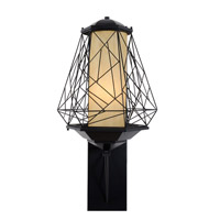 Varaluz Wright Stuff 1 Light Outdoor Wall in Black 737KL01BL