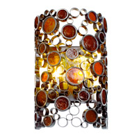 Varaluz Fascination 2 Light Outdoor Wall in Glossy Bronze 765KM02