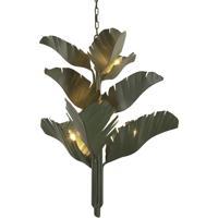 Varaluz 901C09 Banana Leaf 9 Light 35 inch Banana Leaf Chandelier Ceiling Light