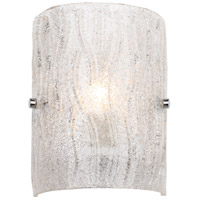 Brilliance 1 Light 7 inch Chrome Sconce Wall Light