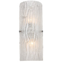 Varaluz AC1102 Brilliance 2 Light 7 inch Chrome Sconce Wall Light