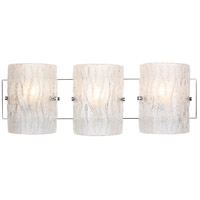 Brilliance 3 Light 23 inch Chrome Bath Vanity Wall Light