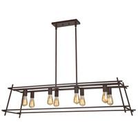 Varaluz AC1560 Hashtag 8 Light 48 inch New Bronze Pendant Ceiling Light