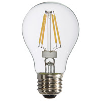 Signature LED A19 E26 Medium Base 4 watt 3000K Bulb, Pack of 6
