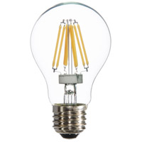 Signature LED A19 E26 Medium Base 6 watt 3000K Bulb, Pack of 6