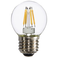 Signature LED G16.5 E26 Medium Base 4 watt 3000K Bulb, Pack of 6