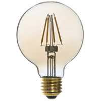 Signature LED G25 E26 Medium Base 4 watt 2200K Bulb, Pack of 6