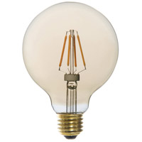 Signature LED G30 E26 Medium Base 4 watt 2200K Bulb, Pack of 6