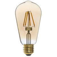 Signature LED ST58 E26 Medium Base 4 watt 2200K Bulb
