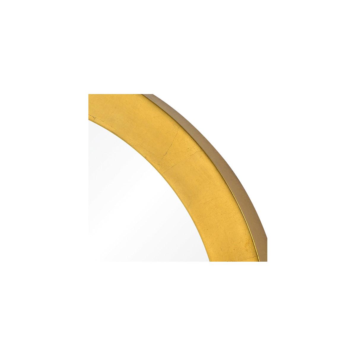 c3cc0877a920 Varaluz 410A01GL Ringleader 24 X 24 inch Gold Leaf Wall Mirror ...