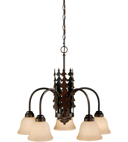 Burnished Bronze Steel Yosemite Chandeliers
