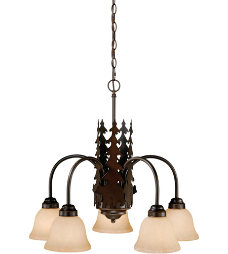 Steel Bozeman Chandeliers
