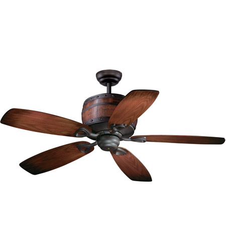 Vaxcel FN52455OBB Cabernet 52 inch Oil Burnished Bronze with Walnut/Charred Oak Blades Ceiling Fan photo thumbnail