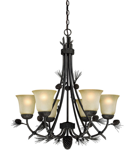 Black Sierra Chandeliers