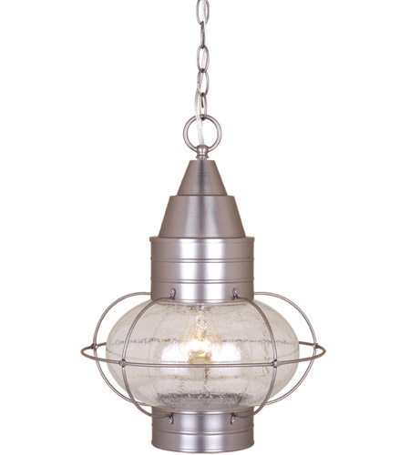Vaxcel Od21836bn Chatham 1 Light 13 Inch Brushed Nickel Outdoor Pendant