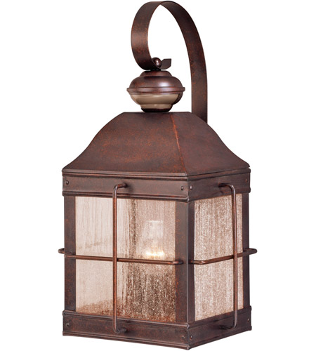 Vaxcel T0193 Revere 1 Light 19 Inch Royal Bronze Outdoor Wall
