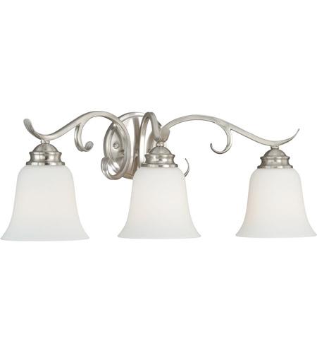 Vaxcel W0162 Hartford 3 Light 24 Inch Satin Nickel Bathroom Light