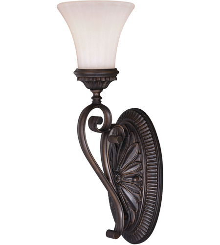 Vaxcel W0301 Avenant 1 Light 6 Inch Venetian Bronze Bathroom Wall