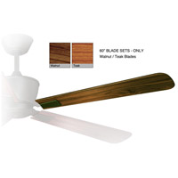 Geneva Walnut/Teak each Fan Blade Set