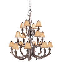 Aspen 16 Light 46 inch Pine Tree Chandelier Ceiling Light