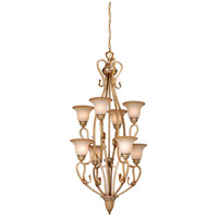 Berkeley 8 Light 24 inch Corinthian Patina Chandelier Ceiling Light