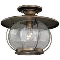 Vaxcel C0078 Jamestown 1 Light 14 inch Parisian Bronze Semi-Flush Mount Ceiling Light