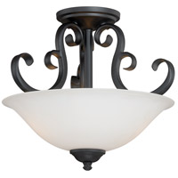 Belleville 2 Light 14 inch Oil Rubbed Bronze Semi-Flush Mount Ceiling Light