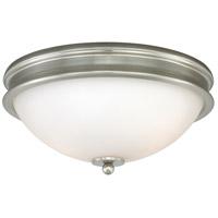 Vaxcel C0109 Malie 2 Light 13 inch Satin Nickel Flush Mount Ceiling Light