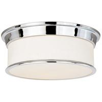 Vaxcel C0117 Carlisle 3 Light 16 inch Chrome Flush Mount Ceiling Light