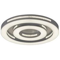 Vaxcel C0137 Coronal LED 18 inch Chrome Flush Mount Ceiling Light