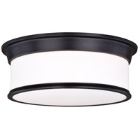 Vaxcel C0142 Carlisle 3 Light 16 inch Noble Bronze Flush Mount Ceiling Light