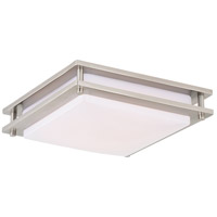 Horizon LED 12 inch Satin Nickel Flush Mount Ceiling Light