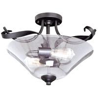 Vaxcel C0154 Cinta 2 Light 16 inch Oil Rubbed Bronze Semi-Flush Mount Ceiling Light