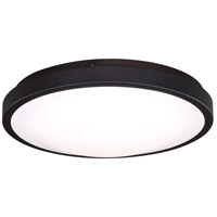 Aries LED 14 inch Oil Burnished Bronze Flush Mount Ceiling Light