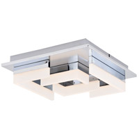 Vaxcel C0179 Atra LED 14 inch Chrome Flush Mount Ceiling Light
