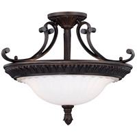Vaxcel C0195 Avenant 3 Light 18 inch Venetian Bronze Semi-Flush Mount Ceiling Light