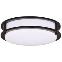 Horizon LED 12 inch Oil Burnished Bronze Flush Mount Ceiling Light