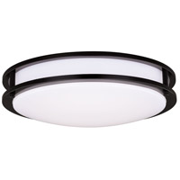 Vaxcel C0203 Horizon LED 16 inch Oil Burnished Bronze Flush Mount Ceiling Light