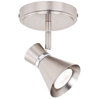 Vaxcel C0218 Alto Brushed Nickel and Chrome 7.00 watt LED Directional Ceiling Light