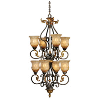 Caesar 8 Light 25 inch Walnut Patina Chandelier Ceiling Light