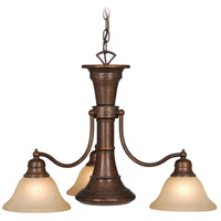 Standford 4 Light 26 inch Royal Bronze Chandelier Ceiling Light