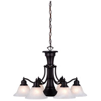 Vaxcel CH30307OBB Standford 6 Light 26 inch Oil Burnished Bronze Chandelier Ceiling Light